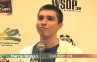 """WSOP 2012, RUGGERI MIGLIOR AZZURRO AL MAIN: """"L'ANNO PROSSIMO CI RIPROVERO'"""""""