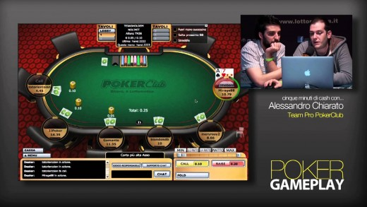 GamePlay – 5 minuti di Cash Game con Alessandro Chiarato