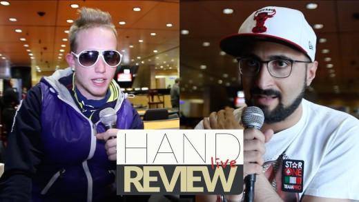 Hand Review Live – Carlo Savinelli contro Andrea Cortellazzi al WPTN di Campione