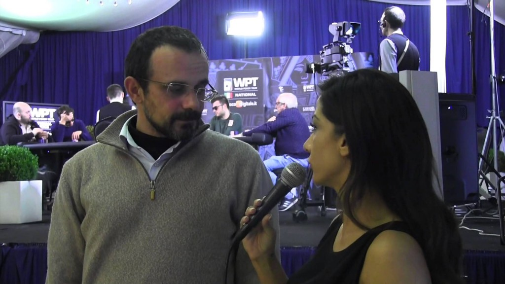 I protagonisti del Poker Live - Salvatore Scrivo e la sua avventura al WPTN