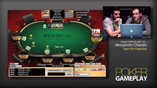 GamePlay – 5 minuti di Cash Game con Alessandro Chiarato