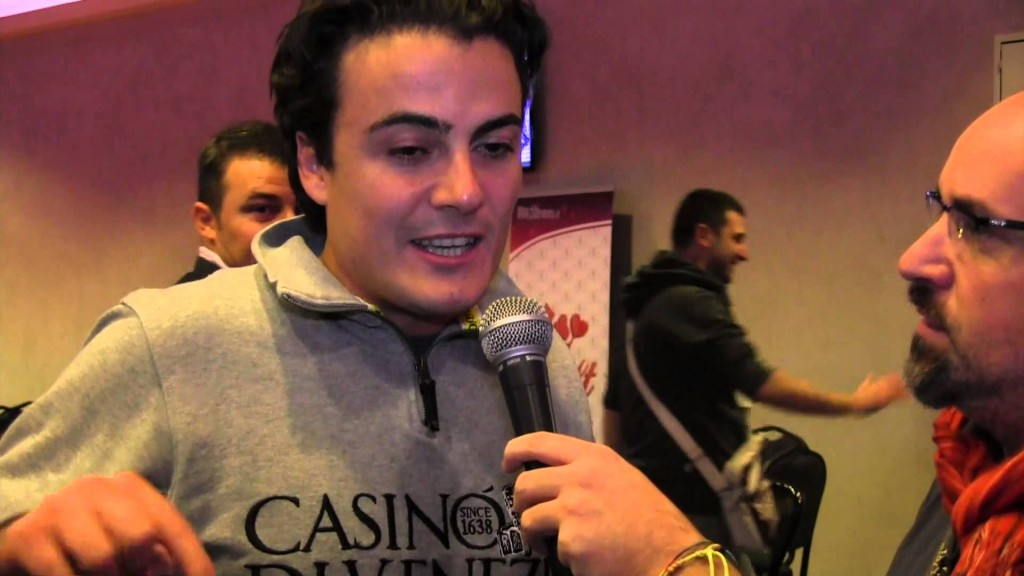I protagonisti del Poker Live - Luca Granieri, bandierina targata Casinò di Venezia